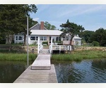 SAG HARBOR BAYFRONT WITH DOCK OVERLOOKING COVE